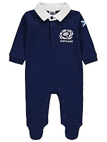 8fba3e0f4f9 Official Scotland Rugby Union Sleepsuit