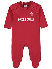 8afa4795b33 Official Welsh Rugby Union Sleepsuit