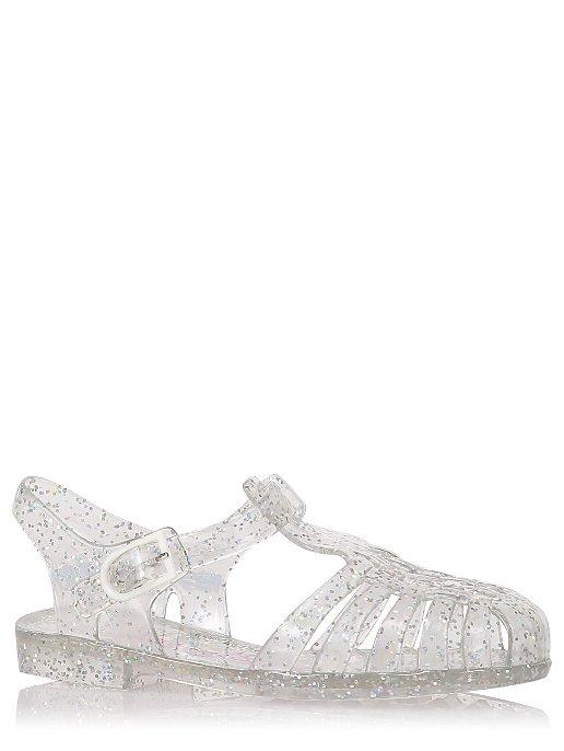 7965b19d386f Silver Glitter Jelly Sandals. Reset. Was £5