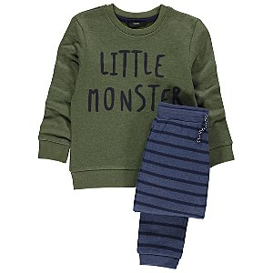 Little Monster Sweatshirt and Joggers Set