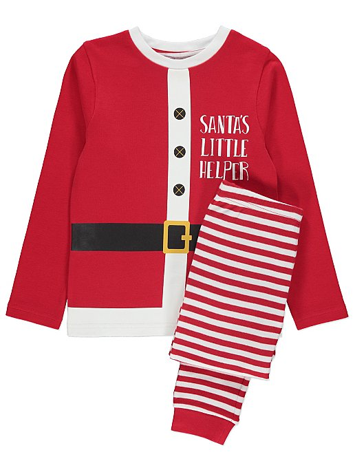 f087de49c Santa s Little Helper Matching Christmas Pyjamas