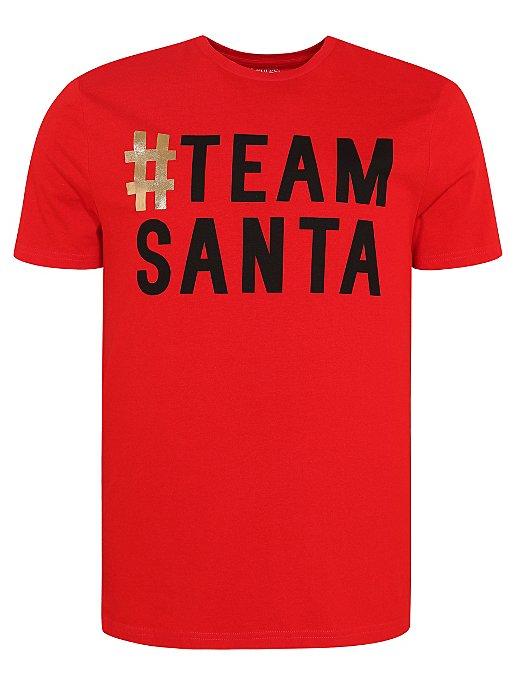 c2c28ca34b7e Red Team Santa Adult Mini Me Christmas T-Shirt