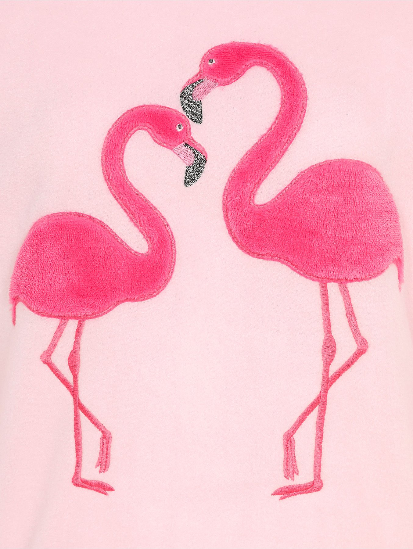 Pink Flamingo Fleece Pyjamas Reset