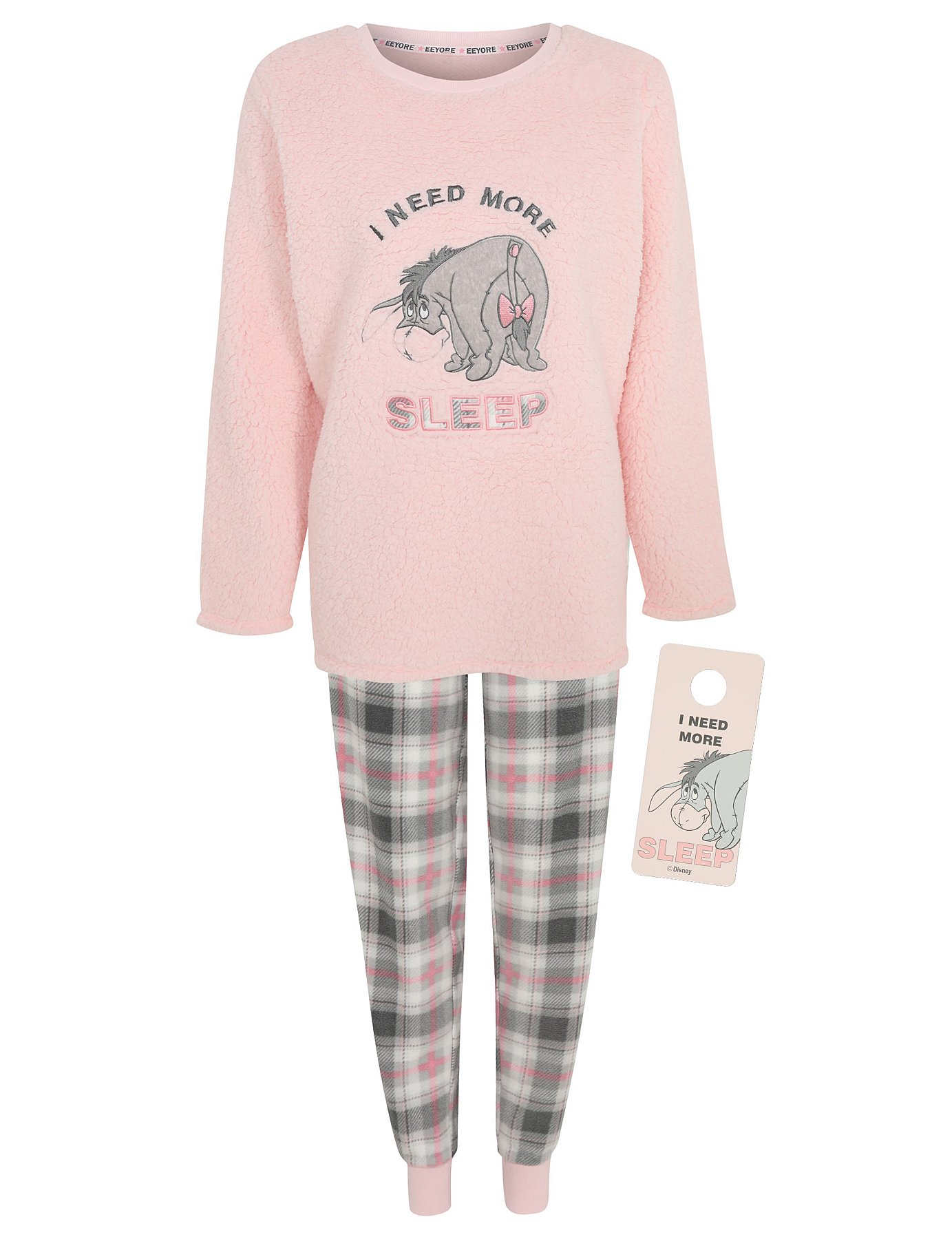 Just Character Ladies Winnie the Pooh Pyjama Sizes From 8//10 to 20//22 years