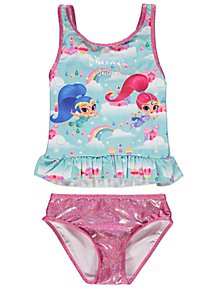 b3c17753c0 Shimmer and Shine Tankini Top and Bottoms Set