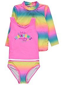 e4ab1114a57ec Rainbow Sun Protection UV40 3 Piece Set