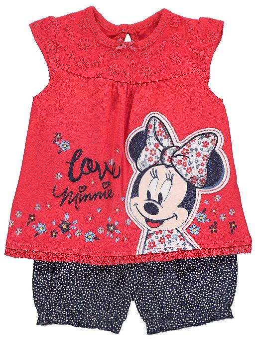 eb10e6a8e77 Disney Minnie Mouse Top and Shorts Outfit