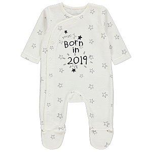 Born In 2019 Star Sleepsuit