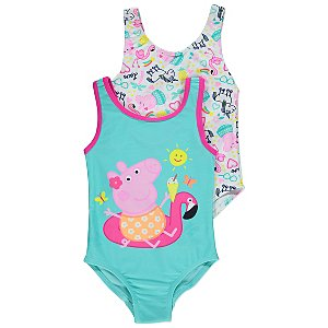 Peppa Pig Swimsuits 2 Pack