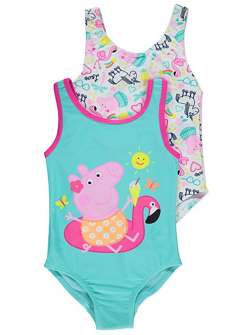 875755e714 Peppa Pig Swimsuits 2 Pack. Reset