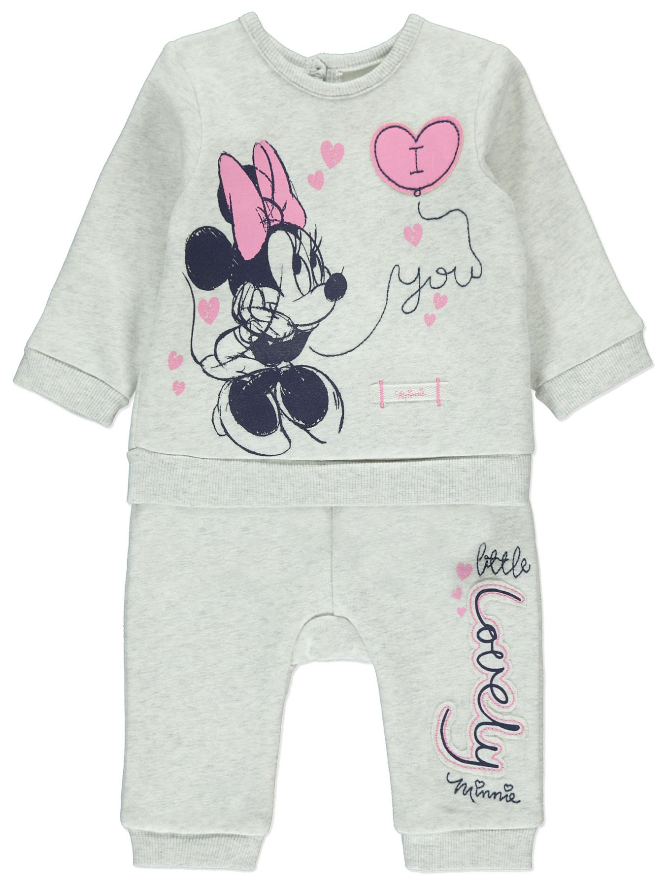 201a96558 Disney Minnie Mouse Sweatshirt and Joggers Outfit | Baby | George