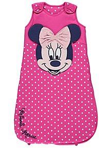 e41a4a6fecc1 Disney Minnie Mouse Pink Polka Dot 2.5 Tog Sleeping Bag