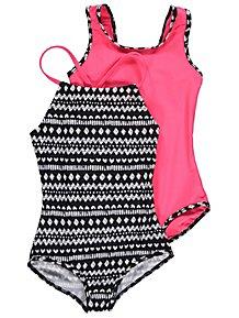 Assorted Aztec Print Swimsuits 2 Pack 84b64d742