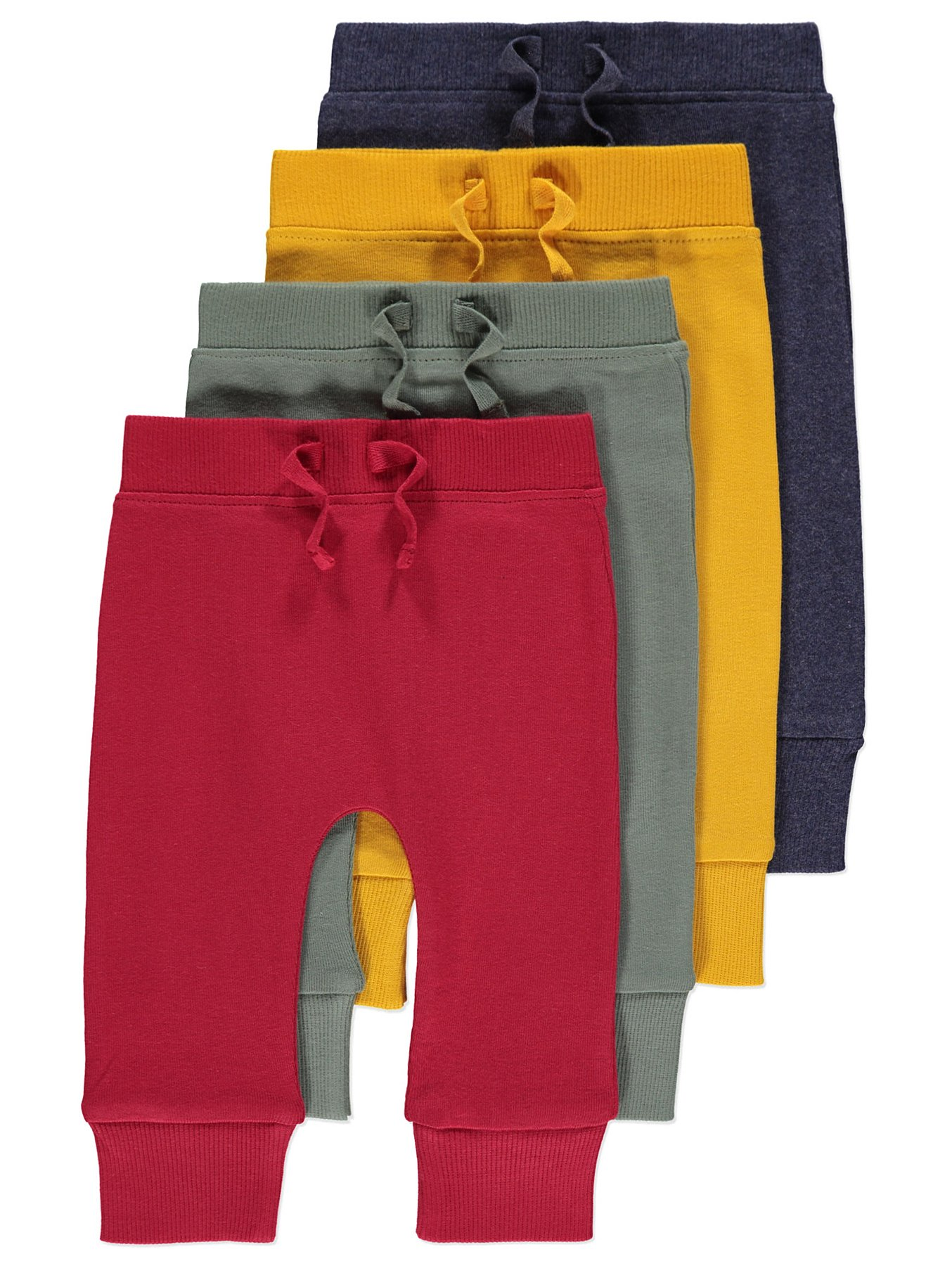 Colourful Joggers 4 Pack