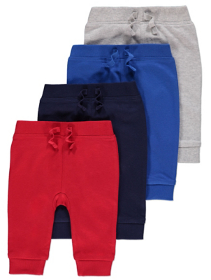Assorted Joggers 4 Pack