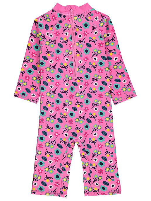867b920a37 Peppa Pig Sun Protection UV40 Swimsuit and Hat Set