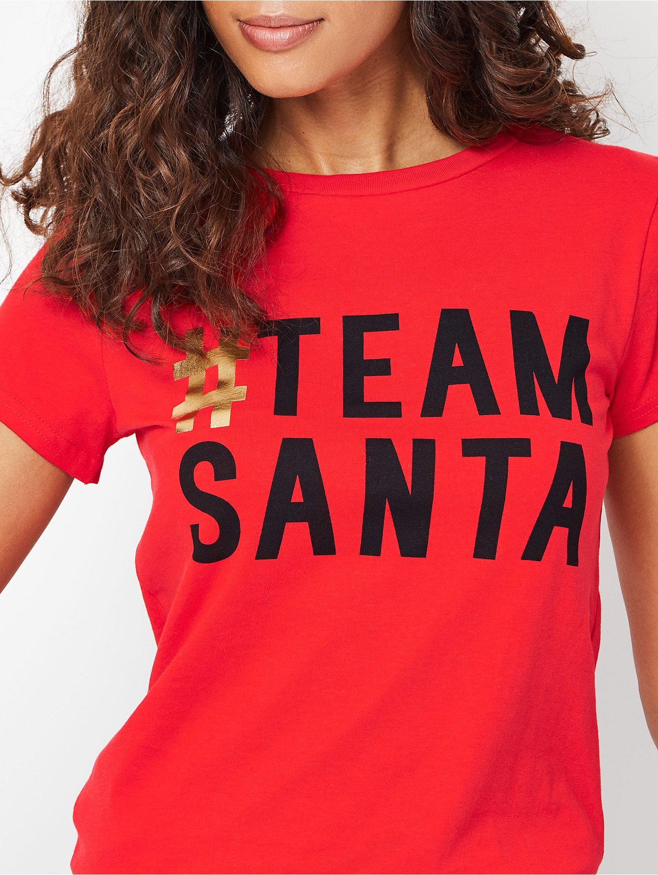 ae47f803a6c9 Red Team Santa Adult Mini Me Christmas Top