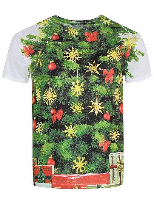 fe538b51 Christmas Tree Print T-Shirt | Men | George