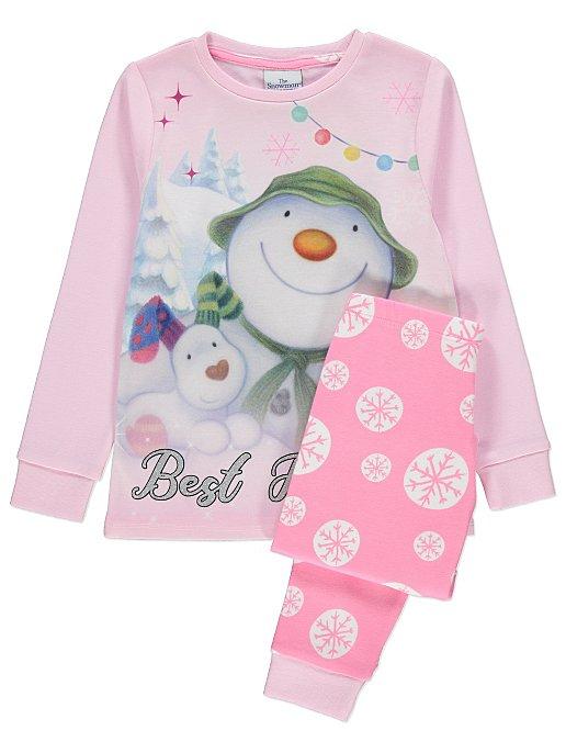 02dba4b9b The Snowman And The Snowdog Pink Christmas Pyjamas