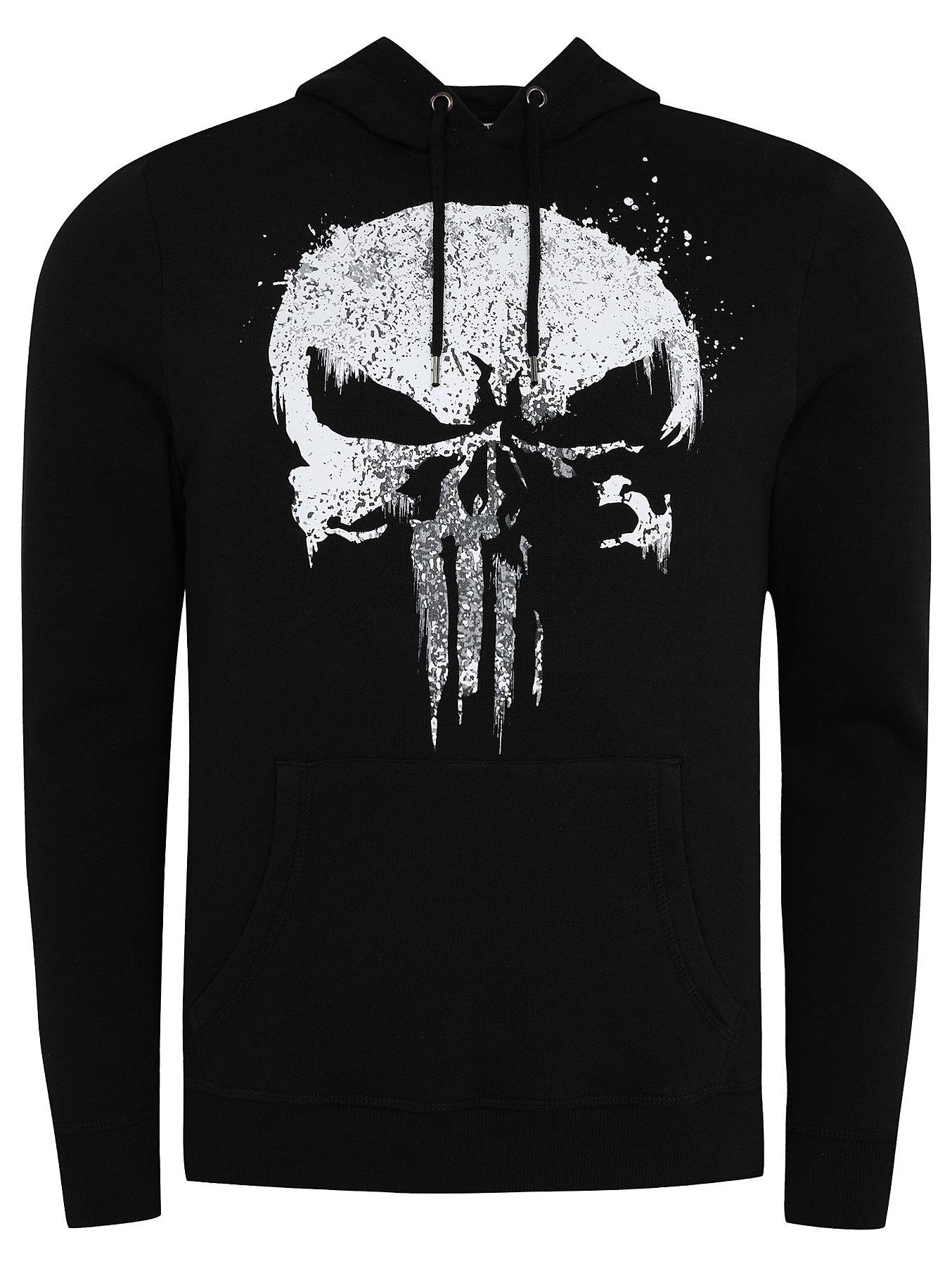 6929db1bb353e Marvel Comics Punisher No Sweat Mens Black T Shirt – EDGE ...