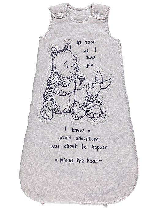 1fcfcea2842 Grey Disney Winnie The Pooh 2.5 Tog Sleep Bag