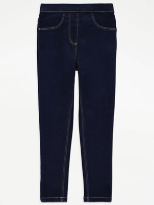Navy Denim Jeggings
