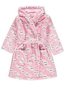 Pink Cloud Print Dressing Gown 57f9c009e