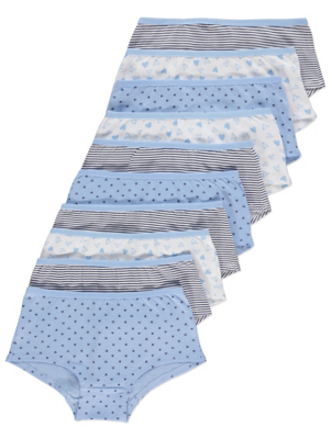 Assorted Printed Shorts 10 Pack