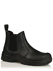 Black Steel Toe Cap Boots 8068a1284624