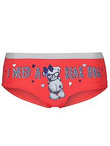 Tatty Teddy Red Printed Short Knickers df01abc5a