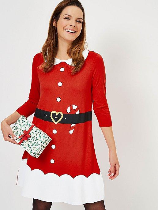 Red Mrs Santa Claus Mini Me Christmas Dress. Reset 768e3e996