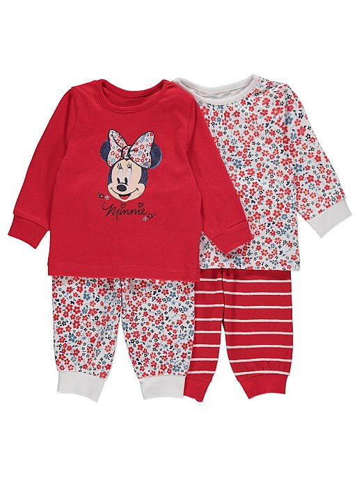 Disney Minnie Mouse Pyjamas 2 Pack  3e8d193de