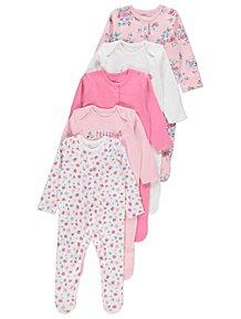 01f4b5fa6601 Baby Girls Sleepsuits   Pyjamas