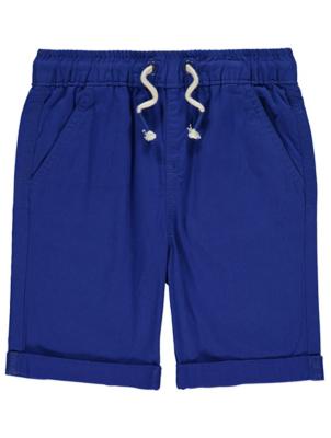 Cobalt Blue Woven Shorts