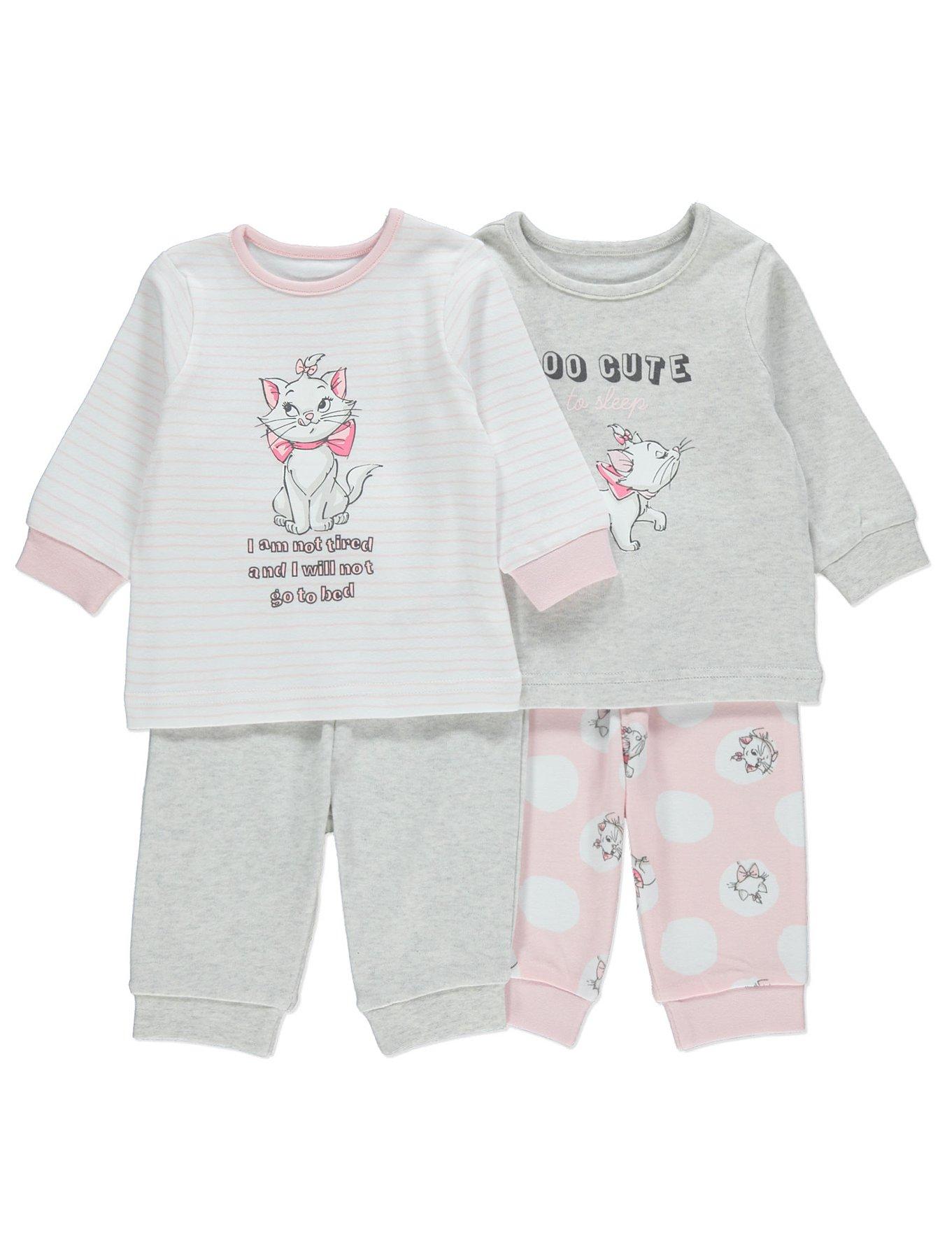 Disney Aristocats Marie Slogan Pyjamas 2 Pack. Reset edeb2f3f7