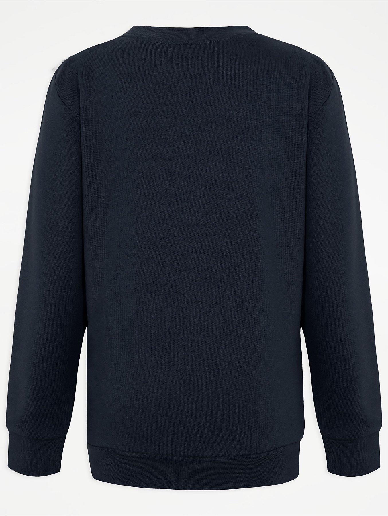 Navy School Sweatshirt 2 Pack