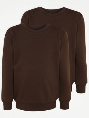 Brown School Sweatshirt 2 Pack