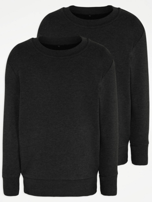 Charcoal School Sweatshirt 2 Pack