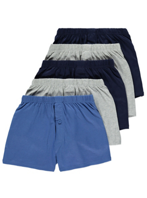 Assorted Boxer Shorts 5 Pack