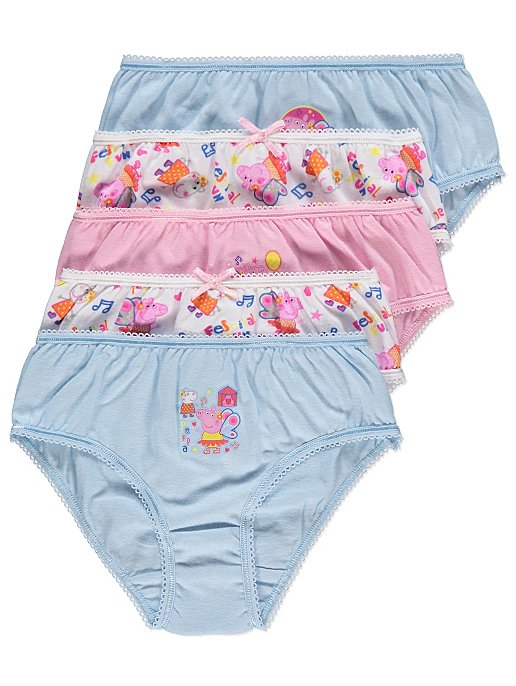 0fb886e302 Peppa Pig Multicolour Briefs 5 Pack. Reset