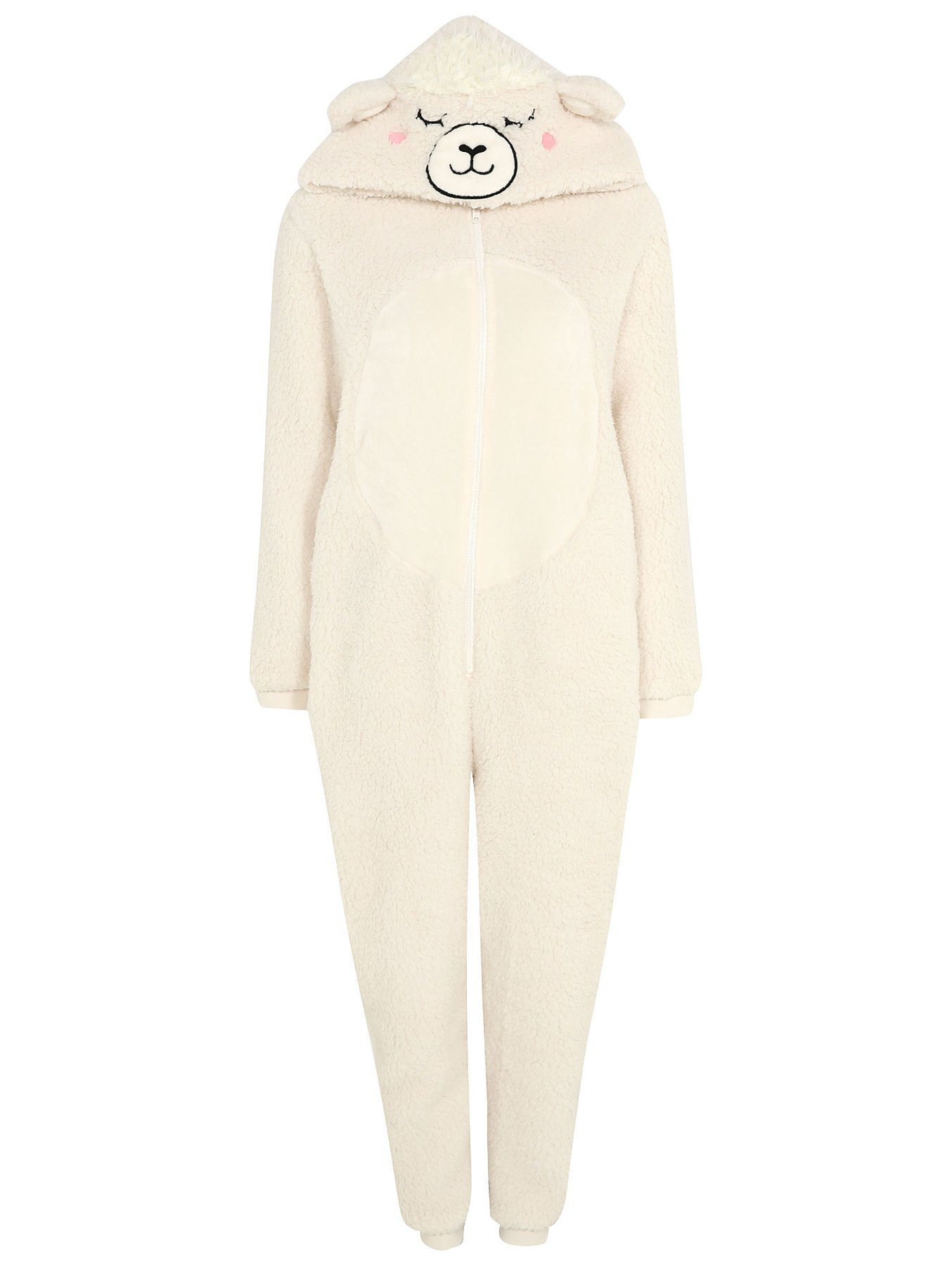 matching in colour real quality how to orders Cream Sheep Borg Onesie