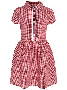 a1138df29 Girls Gingham School Dresses - Girls School Uniform | George at ASDA