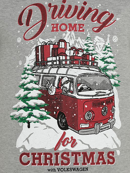 Driving Home For Christmas.Volkswagen Driving Home For Christmas T Shirt
