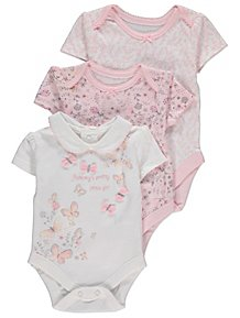 7e94fad9d525 Girls Baby Bodysuits
