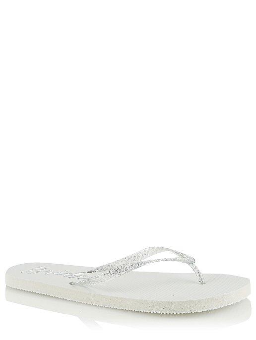 94ea2c596336 White Bride Flip Flops. Reset
