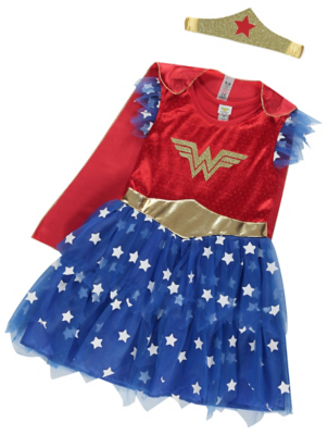DC Comics Wonder Woman Fancy Dress Costume