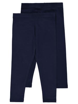 Navy Jersey Leggings 2 Pack