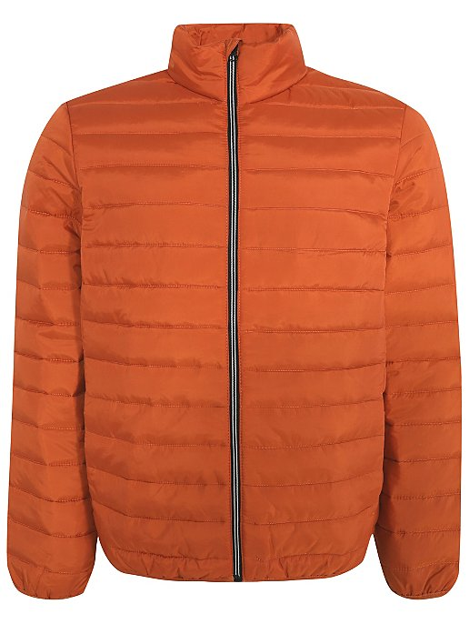 Orange Packable Padded Jacket | Men | George