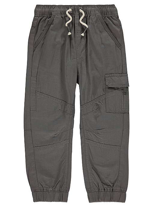 0827a3d4040 Grey Cargo Trousers. Reset