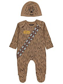 d7b2d6f23a8 Chewbacca All in One and Hat Outfit